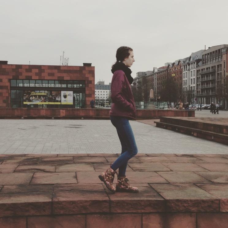 Walking in Antwerp