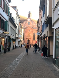 Walking the streets of Heidelberg