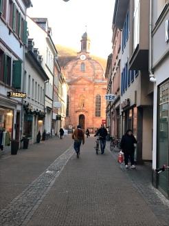Walking the streets of Heidelberg