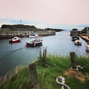 Ballycastle Harbour! Another film location for GOT! They seemed to have found all of the beauty in Northern Ireland.