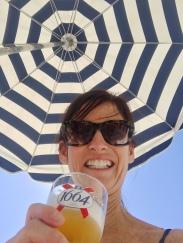 Birthday beach day salut!
