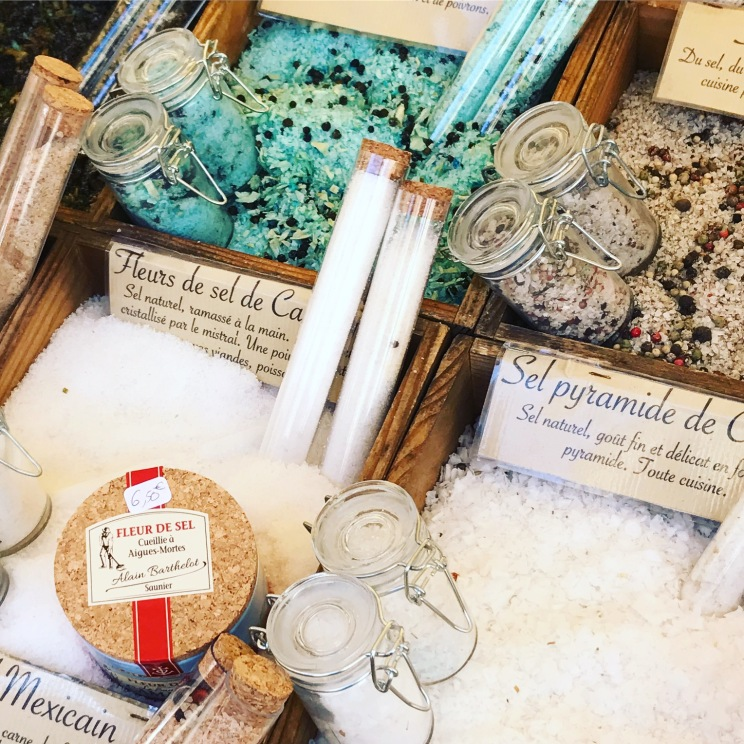 Salts to awaken the senses