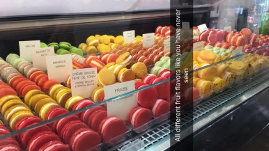 The best macarons I have ever tasted