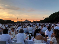 A trip to Paris for Diner en Blanc let me in the city of lights for two days to explore on my own. Not set time to wake up. Lunch and dinner whenever I wanted true solo travel