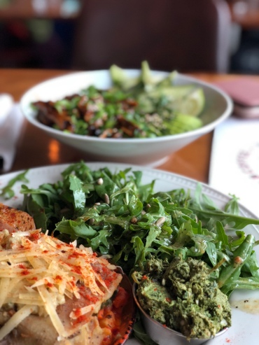 Excellent vegan dishes