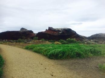 Lave landscape